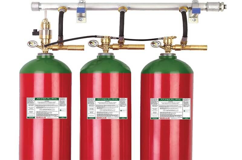 سیستم گازی IG55
