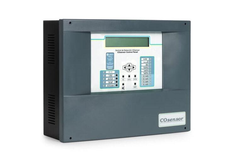 کنترل پنل (CO sensor)