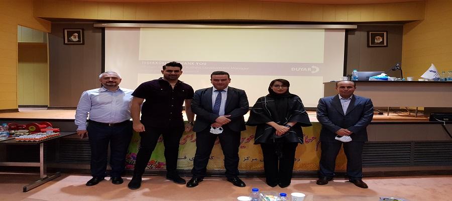 سمینار طراحی سیستم های اطفاﺀ حریق آبی در شهر آمل در تاریخ 7 تیر 1400
